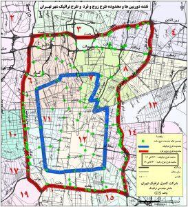 طرح ترافیک تهران 99