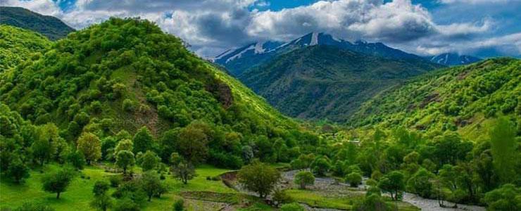 جنگل های استان آذربایجان غربی پیک آموت